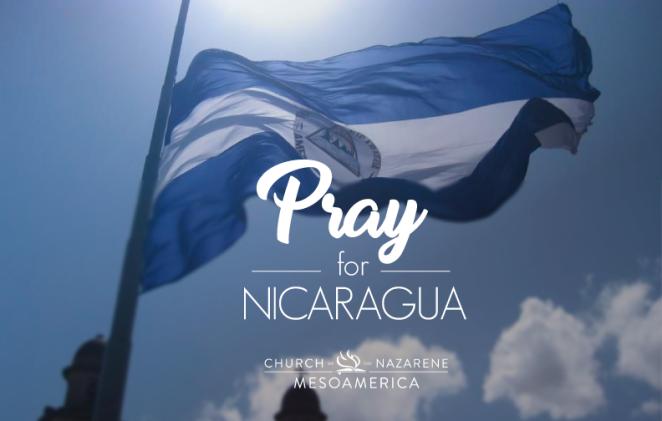 Pray for Nicaragua
